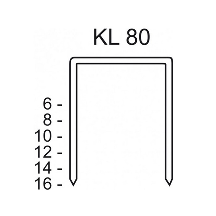 Schneider KL 80/06-80/16 CNK/3000 - Agrafes