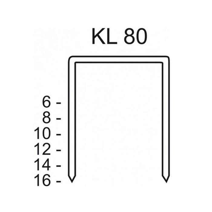 Schneider KL 80/06-80/16 CNK/3000 - Heftklammer