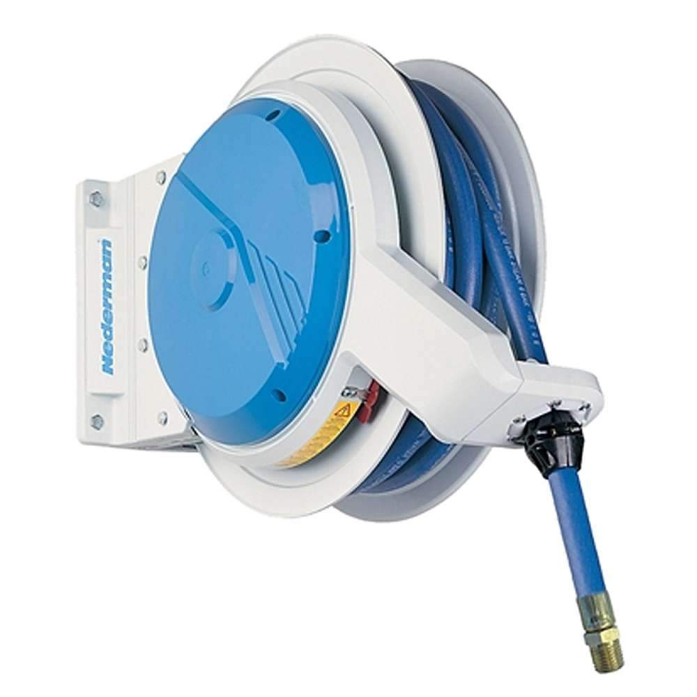 Automatic hose reel Series 884 - open construction type - for oils