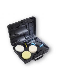 """Mini-Polier-Set """"Prestige"""" - mit Neopren Klettteller 3 '' - mit Polierschwamm und Lammfellpolierhaube"""