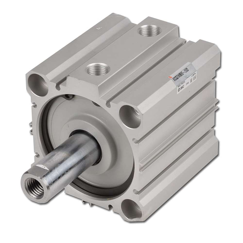 Kompaktzylinder - SMC CQ2 - doppeltwirkend - 10 bar - ohne Magnetring