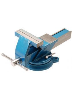 Stahl-Schraubstock - geschmiedet - 100 mm Backen - Länge 345 mm