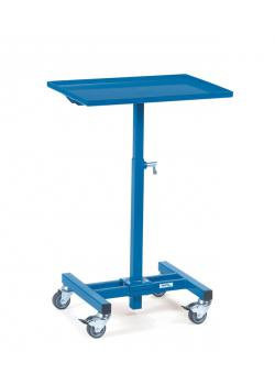 Material stand - carrying capacity 150 kg - not tiltable