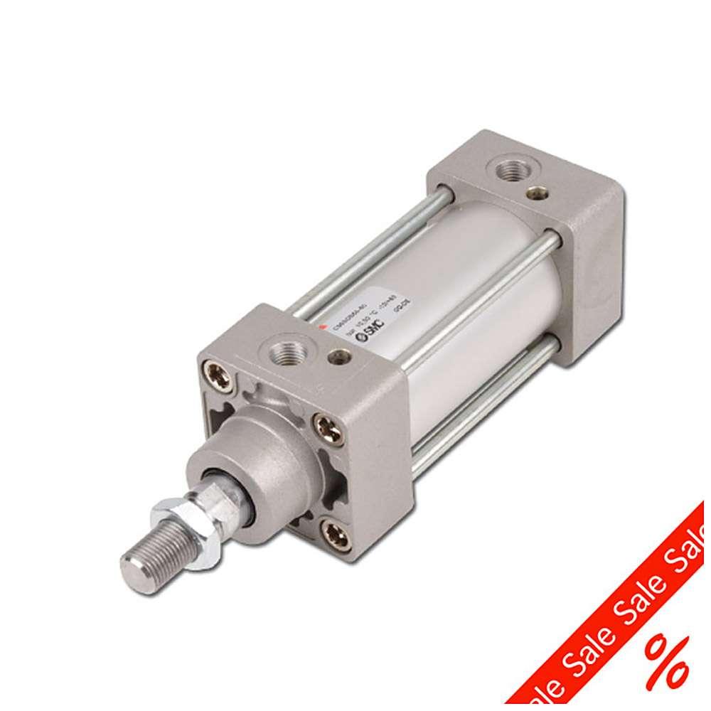 Pneumatikzylinder doppeltwirkend - ISO 6431 - Normzylinder- verstellbare Endlage