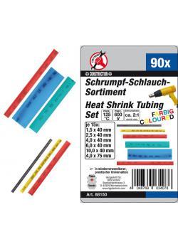 Shrink tubing assortment - color - Shrink ratio 2: 1 - 90 pcs.
