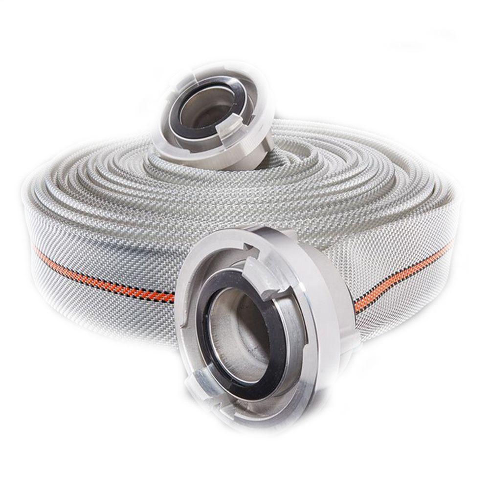 Feuerlöschschlauch Titan 3F DIN 14811 - Innen-Ø 25 bis 110 mm - 12 bis 16 bar - mit Druckkupplungen - Preis per Stück