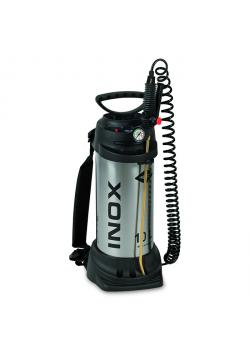"High pressure sprayer ""INOX"" - with NBR seal - 6 bar - filling capacity 10 l - total capacity 13 l"