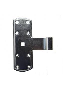 Kreuzband - Stahl - verzinkt - 160 x 50 mm - für Dorn-Ø 13 mm - Preis per Stück