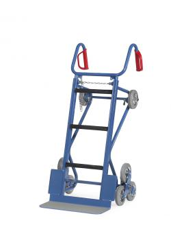 Machinery handtruck - 400 kg - heavy truck - with stairs stars