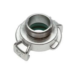 GK-Schnellkupplung - Edelstahl - Außengewinde 1 1/4 Zoll - Klauenweite 40 mm