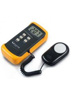 Light meter - up to 200,000 lux - measuring frequency 2 Hz - with cosine correction