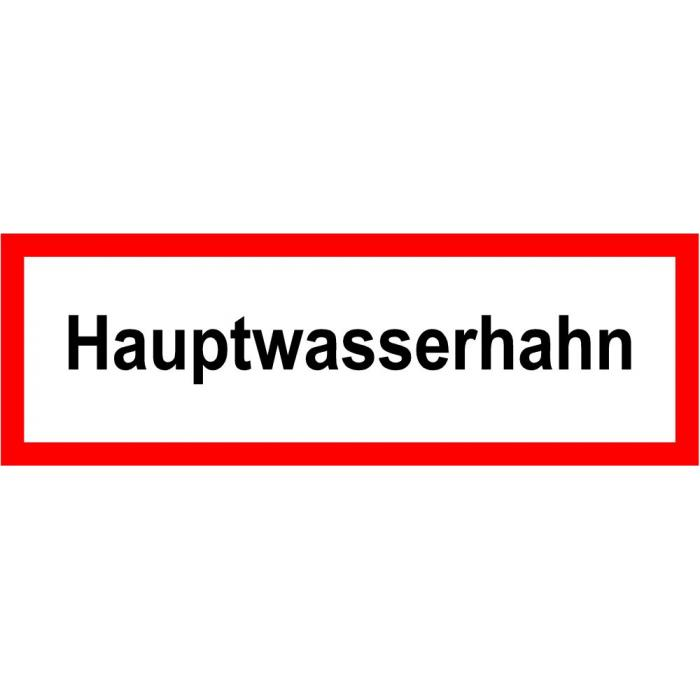 """Brandschutz - """"Hauptwasserhahn"""""""