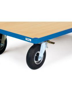 Aufpreis für Räder mit Luftbereifung 220 x 70 mm - Tragkraft 400 kg