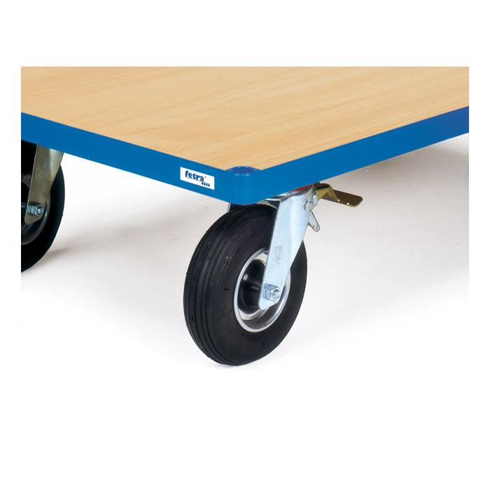 Wheels with pneumatic tires 220 x 70 mm - Load capacity 400 kg