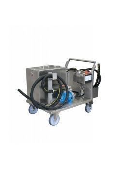 RWR-80 L Rohr- und Wärmetauscher - mobiles Reinigungssystem - Edelstahl