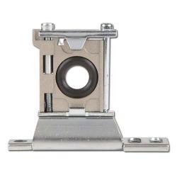 Pièce intercalaire avec élément de fixation pour unités de maintenance modulaire