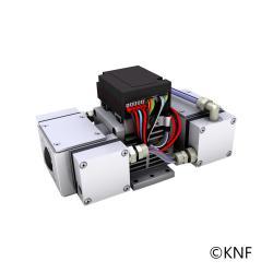 Membran-Vakuumpumpe - bürstenloser Gleichstrommotor - max. Vakuum bis 2 mbar - Förderleistung 1 bis 4,8 l/min.