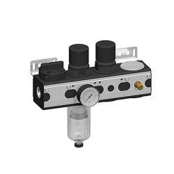 Luftanslutningssats Air Control Pro - 3.500 l / min - 10 bar - 1/2 tum - horisontell