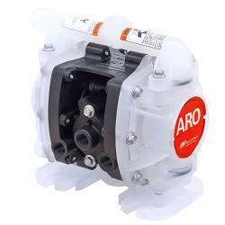 "Aro Druckluft Doppelmembranpumpe ARO EXP 1/4"" - Gehäuse Polypropylen -  20,0 l/min -  8,6 bar"
