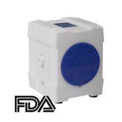 Pneumatisk membranpumpe Verderair VA10 Rent - PE / PTFE-hus - maks. 27 l / min - 7 bar - FDA-kompatibel
