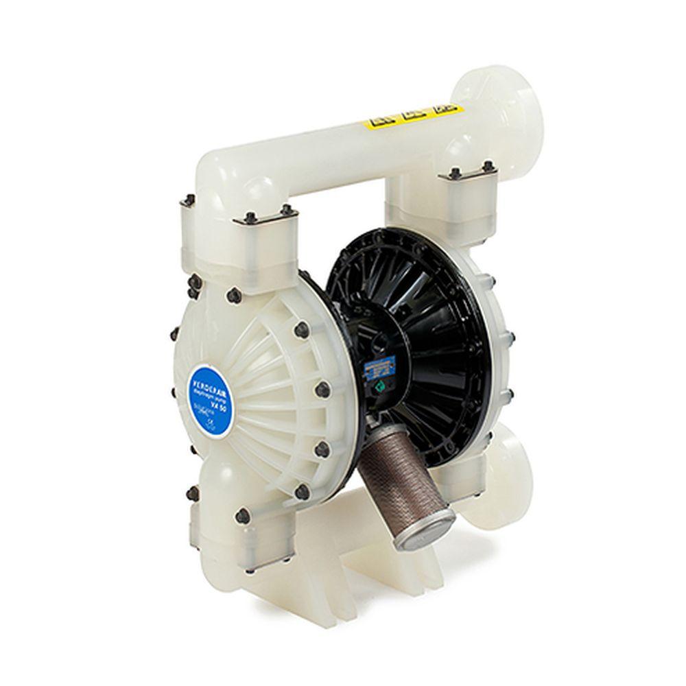 Verder VA50K Pneumatisk membranpump - Plasthölje - 757 l / min - 8,6 bar