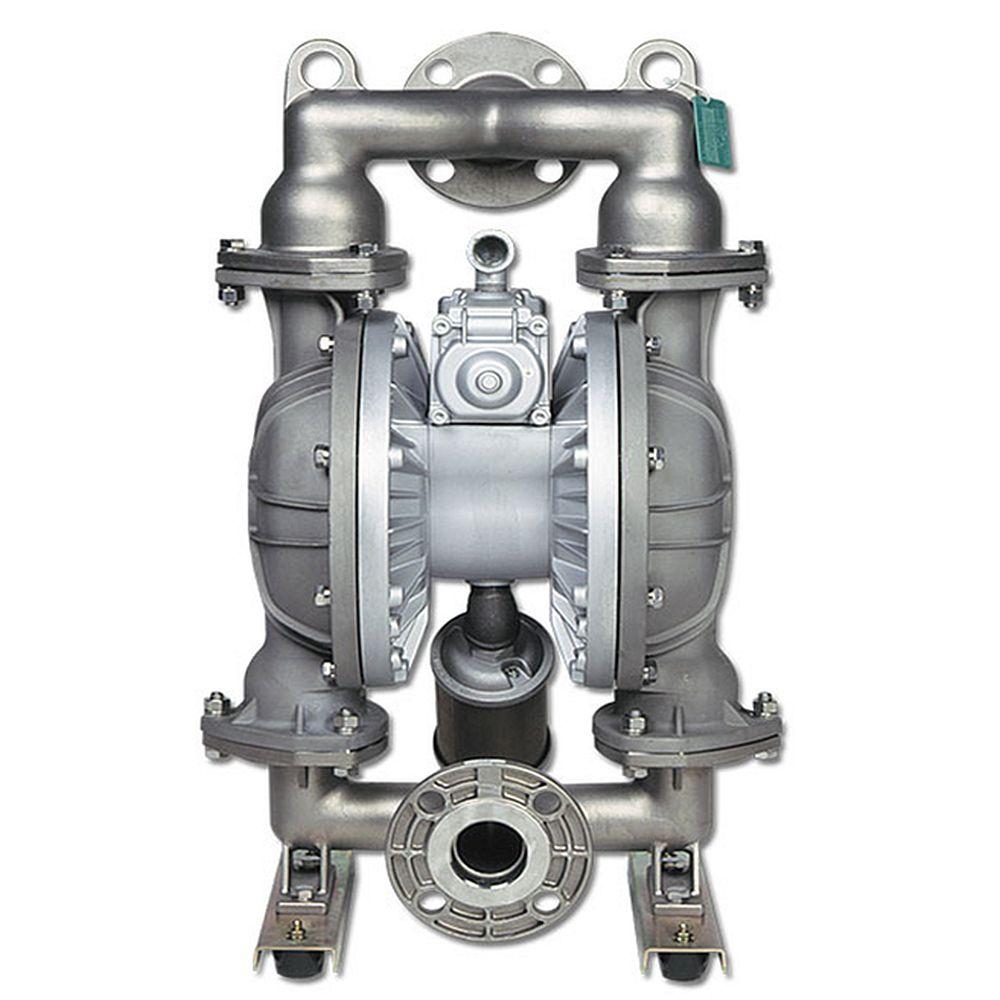 """YAMADA membranpump - 600 l/min - 2"""" anslutning - rostfritt stålhus"""