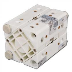 Doppelmembran-Druckluftpumpe Binda Cubic - Polypropylen-Gehäuse - 5 bis 17 l/min - 7 bar