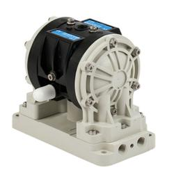 "Verder Compressed Air Diaphragm Pump - 1/4""- Plastic Housing - Max 18 l/min."