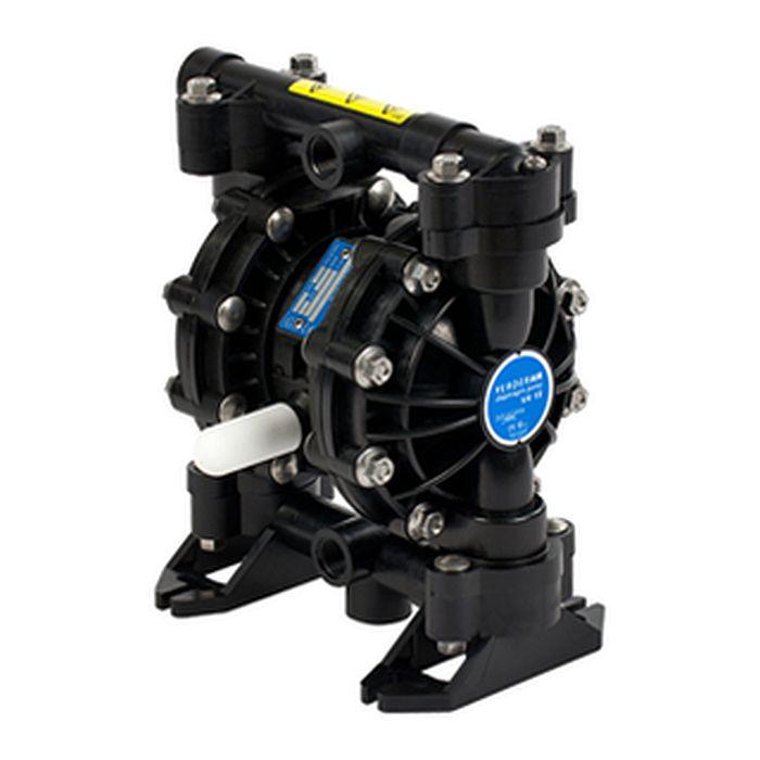 Verder V15 Druckluft-Membranpumpe - Kunststoff-Gehäuse - 57 l/min - 7 bar