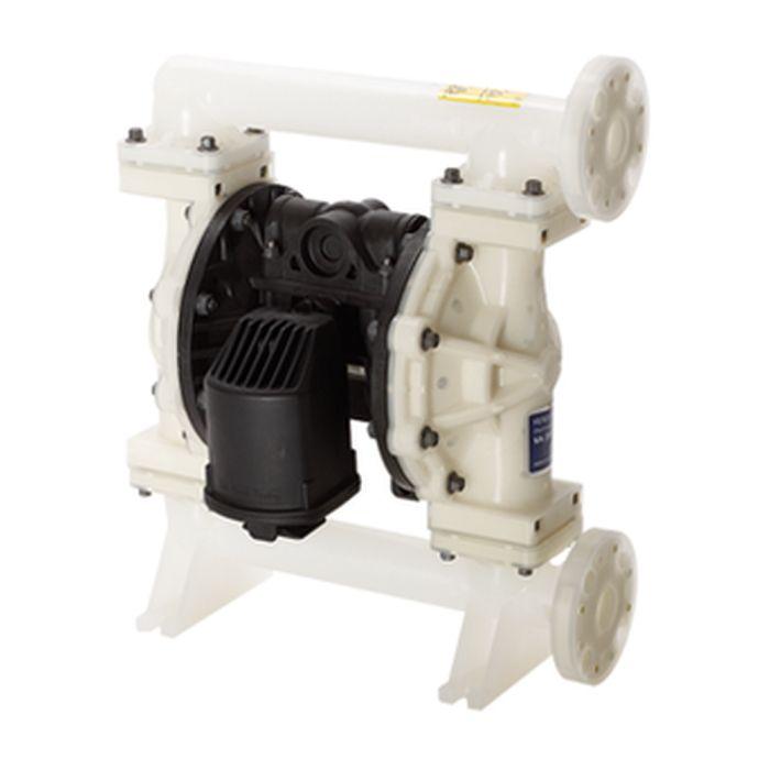 Pompa a membrana ad aria compressa Verder VA25 - alloggiamento in plastica - max. 189 l / min - 8,6 bar