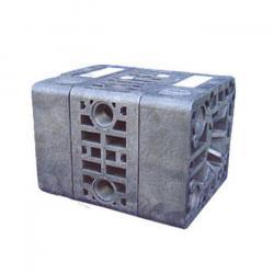Doppelmembran-Druckluftpumpe Binda Cubic - ECTFE-Gehäuse - 17 bis 26 l/min - 7 bar