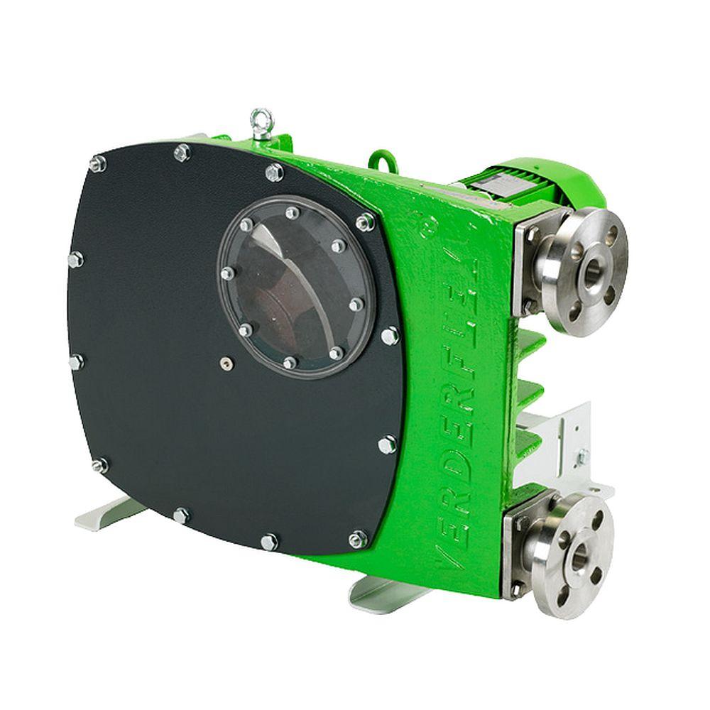 Industrislangpump Verderflex VF65 - max. 12 bar - max. 7,5 kW - max. 18 m³ / h - olika slangar