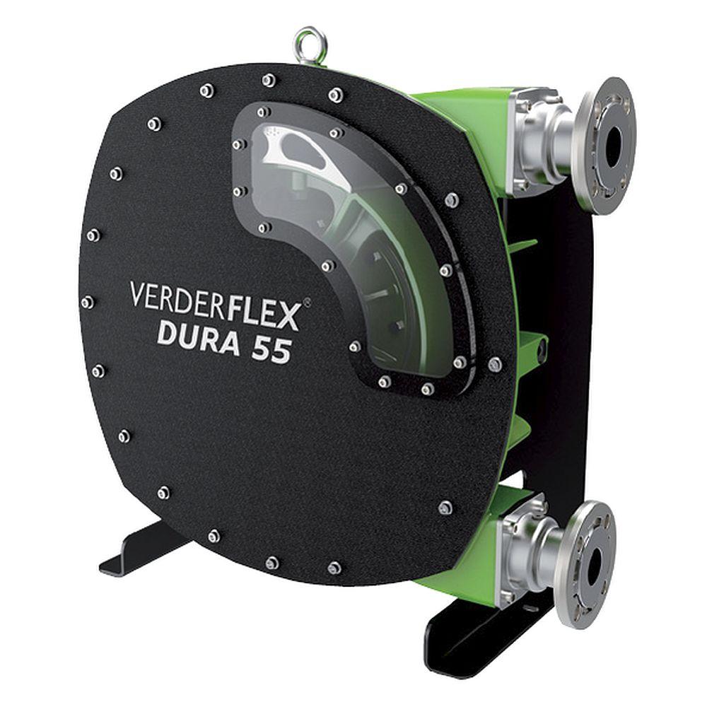 Peristaltisk pump Verderflex Dura55 - 5 till 7,5 bar - max. 7,5 kW - max. 9000 l / h - olika slangar