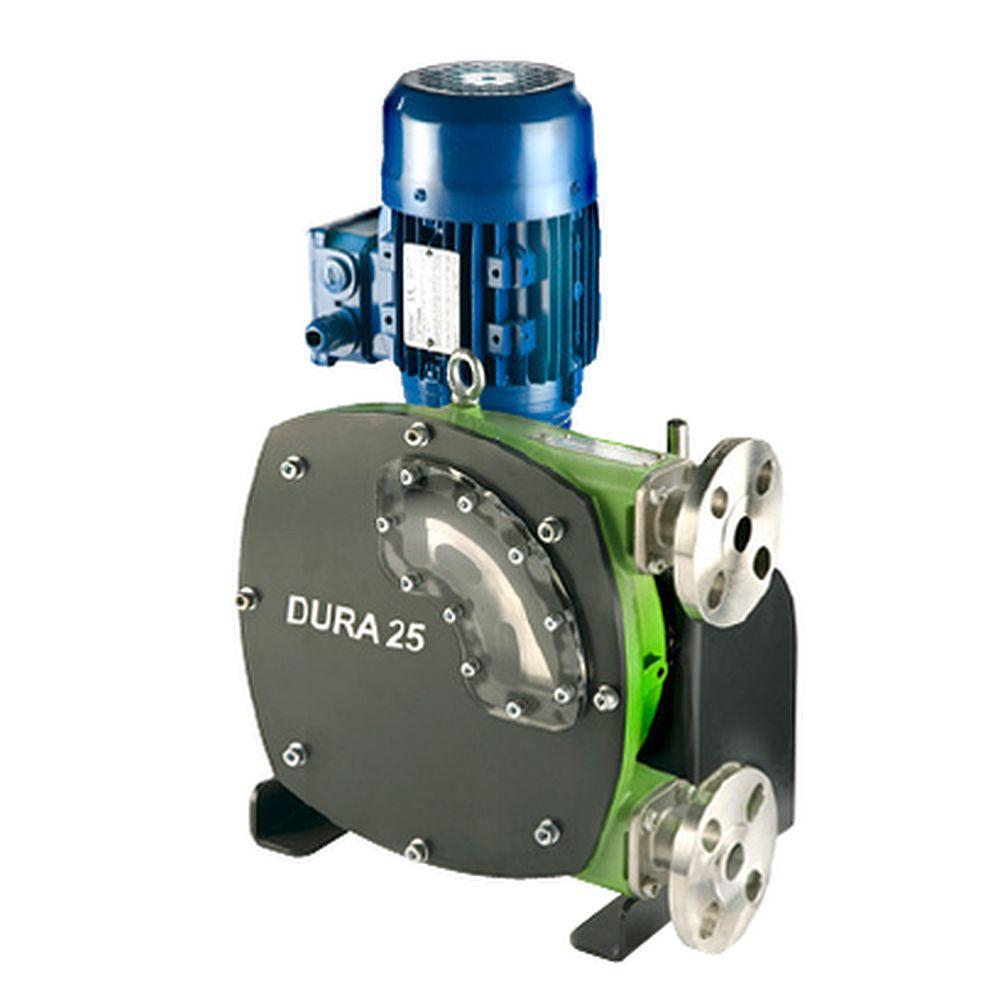 Peristaltisk pump Verderflex Dura25 - 6 bar - max. 1,5 kW - max. 1193,6 l / h - olika slangar