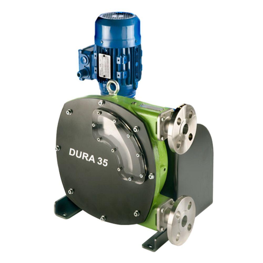 Peristaltisk pump Verderflex Dura35 - 6 bar - max. 2,2 kW - max. 2744,3 l / h - olika slangar