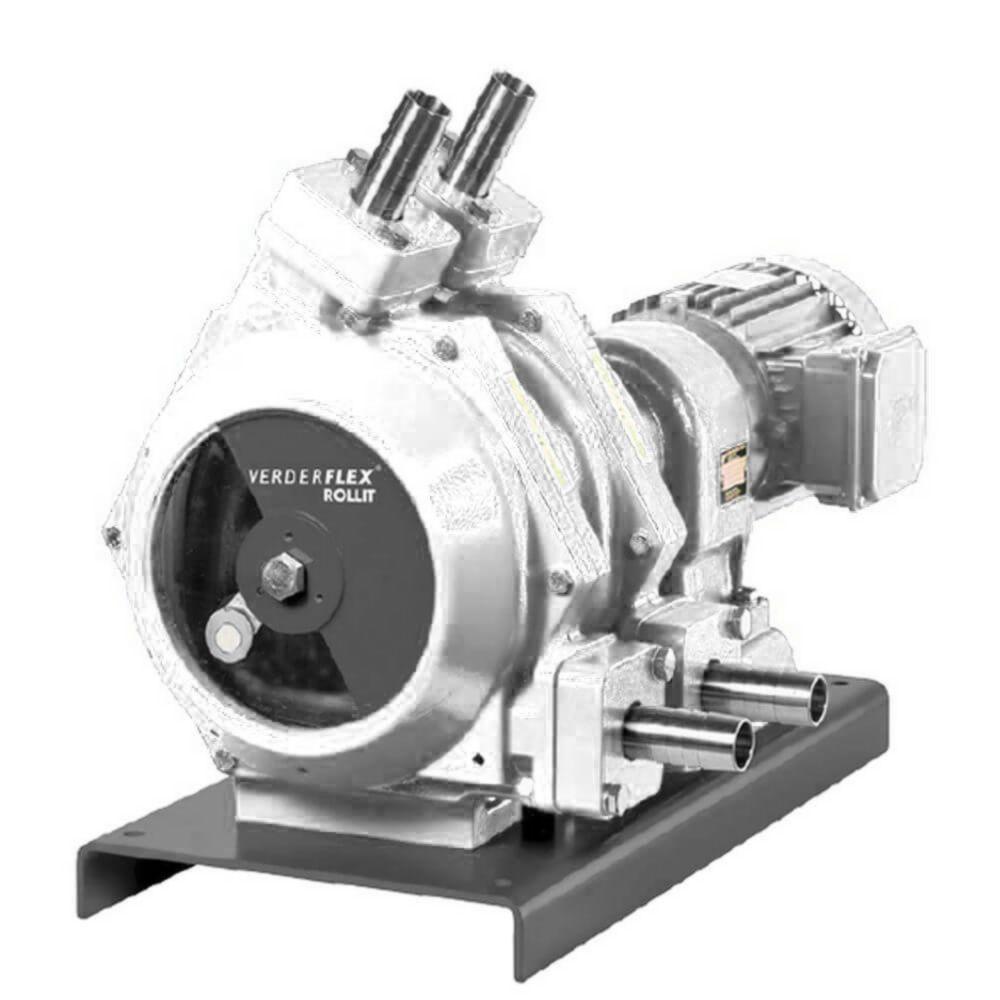 Schlauchpumpe Rollit Twin & Hygienic 30 - max. 2 bar - max. 1,1 kW - max. 4534 l/h - Schlauch Verderprene