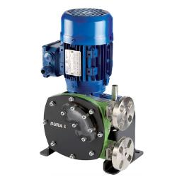 Peristaltic pump Verderflex Dura5 - 5 bar - max. 0.55 kW - max. 23 l / h - different hoses