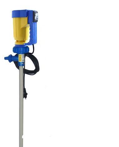 Laborpumpen-SET JP-140 PP (HC) - mit Motor - 32 mm Durchmesser - mit/ohne NSP - mit/ohne DZR