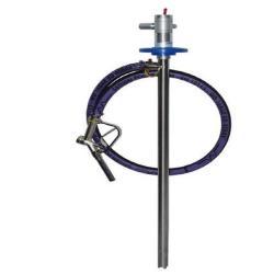 Set pompa a barilotto JP-AIR 1 - aria compressa 300 W - max. 78 l / min - stazione di pompaggio in acciaio inossidabile