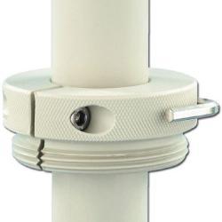 Fassverschraubung -  PP - Stahlfeingewinde außen - für Rohr-Ø 32 mm