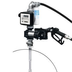 Pompe à tambour - 12 v - 50 l / m - pour diesel / essence / kérosène EX50 DC 12V ATEX