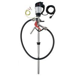 Pumpen-Set FLUX Edelstahl - 115 l/min - 6 bar - für 99,98% Fassentleerung