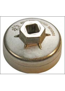 couvercle du filtre à huile - (taille x dur) 75 mm x 12 hex