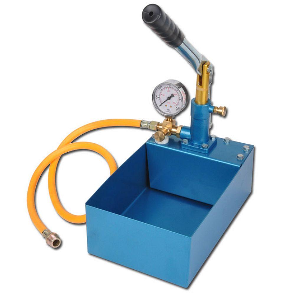 """Testpump manuell - robust - 5 eller 10 l - 25 till 100 bar - 1/2"""""""