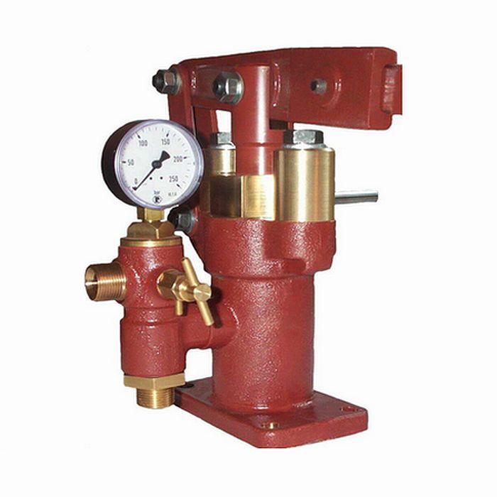 Pompa a doppio pistone Fesa 42 - max. 79 ml / colpo - max. 250 bar - attacco pressione 3/4 pollici