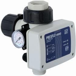 Commande de pompe Presflo Vario - max. 1,5 kW - max. 10 bar - manomètre