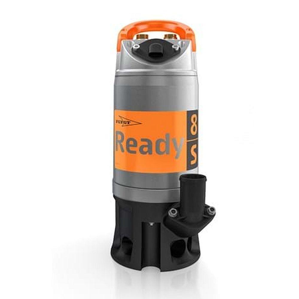 Baupumpe Flygt Ready 8S - max. 0,9 kW - 230 V - Anschluss C-Storz - mit und ohne Schwimmschalter