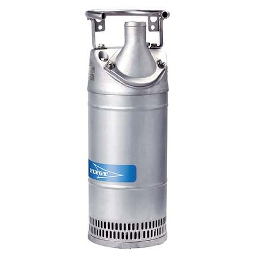 Schlammpumpe Flygt 2700 - max. 8 kW - max. 190,8 m³/h - Storz A und B Kupplung - Start D