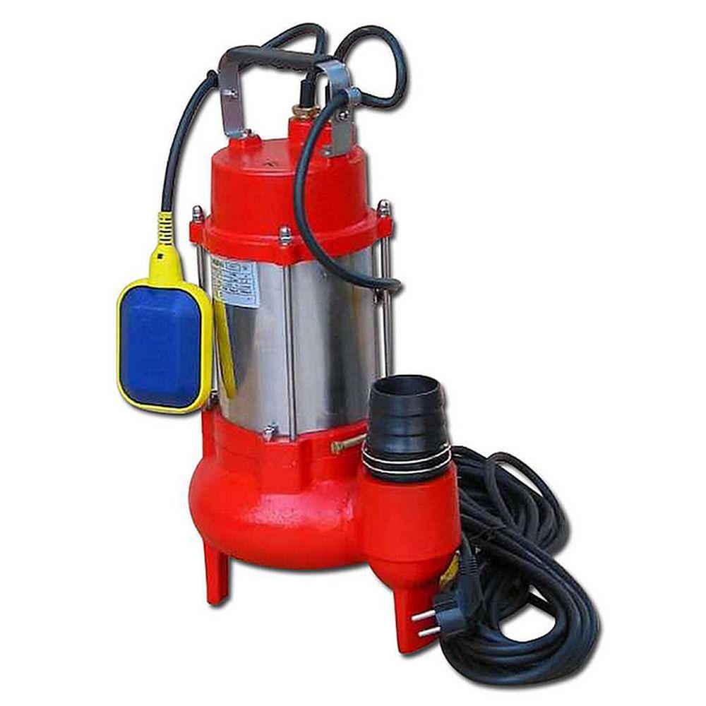 Elektrotauchpumpe Binda Drainex Sewage - Edelstahl/Gusseisen - max. 1400 l/min - max. 3,7 kW