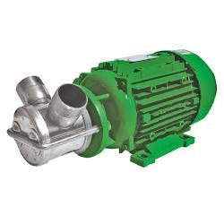 Impellerpumpe NIROSTAR 2000-D/PF -  166 l/min - 3 bar - 400 V - 1400 U/min - mit Motor und Kabel - ohne Stecker